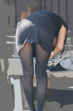 Sexy Hips, Bicycle Girl, Asian Woman, Hosiery, Asian Beauty, Tights, Stockings, Street Style, Legs