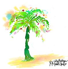 Deck the Palms #lilly5x5