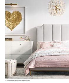 Pink and dove gray