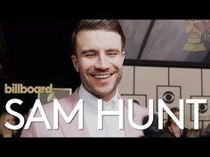 Sam Hunt: GRAMMYs 2016 Red Carpet | Billboard - YouTube