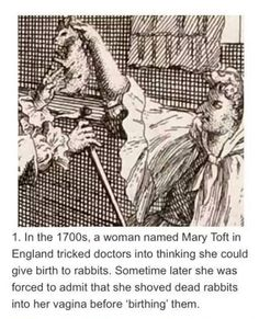 Creepy Stuff | Guess you could say she was a bit harey down...