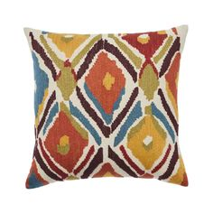 Anise Cushion - Sumac - New Bohemian Cushion Collection Warwick Fabrics, Direct Marketing, Occasional Chairs, Floor Rugs, Weaving, Cushions, Throw Pillows, Embroidery, Collection