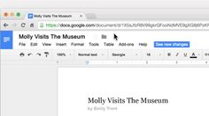 A New Google Docs Feature Ideal for Collaborative Writing in Class - that's the title of this article which introduces this feature.  i think it could work great for on-line classes too.