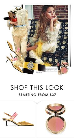 """""""Olivia Palermo for ELLE in Prada Spring 2017"""" by sella103 ❤ liked on Polyvore featuring Prada and Ciaté"""