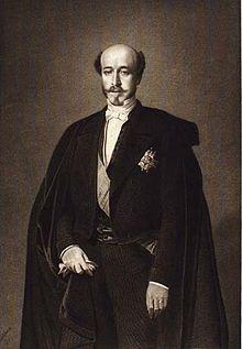 Portrait du duc de Morny.