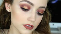 Hey, Guys (WATCH IN HD) Here is a warm, coppery, burgundy makeup look! I hope you enjoy! Thanks for watching! xoxo! Products I Mentioned: Urban Decay Primer ...