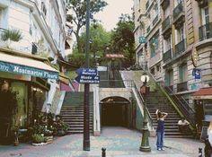 Paris Métro Lamarck Caulaincourt