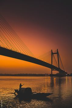 This photo from West Bengal, East is titled 'Prinsep Ghat, Kolkata'. City Photography, Nature Photography, Marine Drive Mumbai, Places To Travel, Places To Visit, India Street, Mumbai City, City Aesthetic, West Bengal