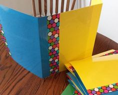 Make your own desk privacy folders.  It doesn't get much easier than this.