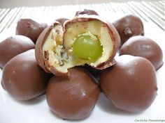 Cantinho Passatempo: Bombom de uva