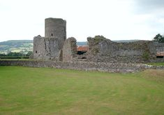 Tretower Castle is a castle in the village of Tretower in the county of Powys, Wales. Tretower was founded as a Motte and bailey castle. In the 12th century, a shell-keep was added to the motte.