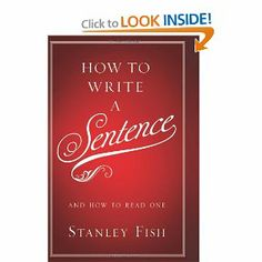 Stanley Fish appreciates fine sentences. The New York Times columnist and world-class professor has long been an aficionado of language. Like a seasoned sportscaster, Fish marvels at the adeptness of finely crafted sentences and breaks them down into digestible morsels. In this entertaining and erudite gem, Fish offers both sentence craft and sentence pleasure, skills invaluable to any writer (or reader).