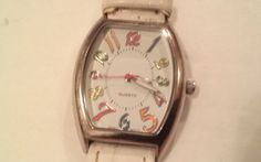 Very Nice Ladies Watch with Rainbow Colored Numbers