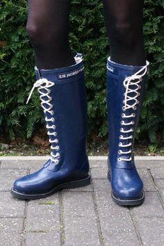 Ilse Jacobsen Boots - Indigo