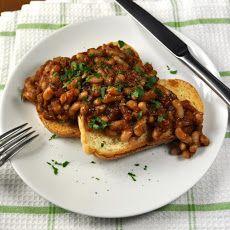 Homemade Baked Beans (Vegetarian)