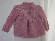 Little Princess Coat - For 6 to 15-Month-Old Baby Girls - Ready for Shipping. $35.00, via Etsy.