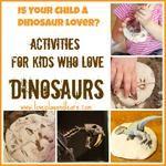 {Dinosaur Week} Fun Activities for Kids who Love Dinosaurs