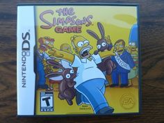 The Simpsons Game Nintendo DS Complete Nds with Case Manual Homer Bart Lisa  #sale    #ebay   +eBay
