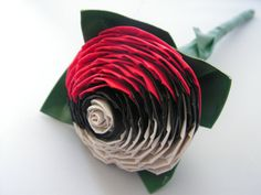 Duct Tape Pokeball Rose