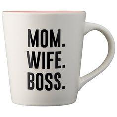 MOM WIFE BOSS MUG by Indigo | Novelty Mugs Gifts | chapters.indigo.ca