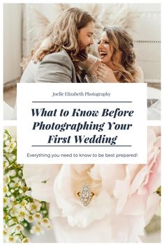 What to know before photographing your first wedding! www.JoelleElizabeth.com