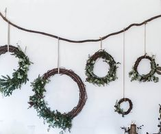 Pretty DIY wreaths for #Christmas | Local Milk | merry & bright |