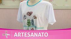 Vida com Arte | Camiseta com sublimação por Tânia Magali - 10 de Novembr...