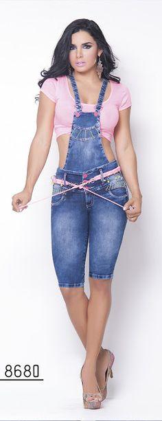 Pathymoda: Nueva colección de enterizo jeans colombiano