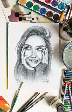 Custom pencil portrait from photo Custom Pencils, Portraits From Photos, Pencil Portrait, Are You The One, Pencil Drawings, First Love, Best Gifts, Doodles, Sketches