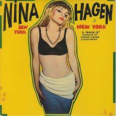 Nina Hagen NEW YORK, NEW YORK