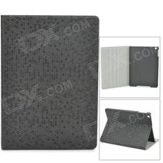 Color: Black; Brand: N/A; Model: N/A; Quantity: 1 Piece; Material: PU + plastic; Compatible Models: Ipad AIR; Style: Flip Open; Auto Wake-up / Sleep: Yes; Packing List: 1 x Case; http://j.mp/1lkq5Yx