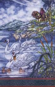The Children of Lir Jim Fitzpatrick, Swan Song, Just For Fun, How Beautiful, Folklore, Celtic, Fairy Tales, Songs, Children