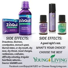 There is an alternative for insomnia, poor quality sleep to OTC meds. www.theoildropper.com
