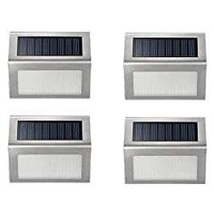 7 Best Solar Step Lights in 2020 (Review) - Solar Works Nola  #solarsteplights #solarlights #solarworksnola #steplights #homedecor #ideas Outdoor Stair Lighting, Stairway Lighting, Outdoor Stairs, Mini Solar Lights, Solar Powered Deck Lights, Deck Flooring, Patio Wall, Solar Lanterns, Stair Steps