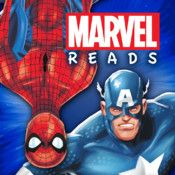 Marvel Origins - a great interactive iOS app to engage kids Reading skills w/ game based learning