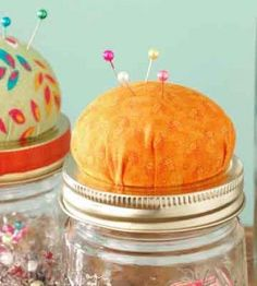 Pin Cushion Mason Jar Craft | Crafts for Home | Country Woman Crafts — Country Woman Magazine