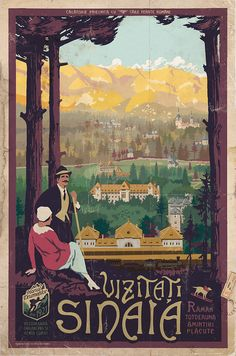 Tourism Poster, Poster Ads, History Of Romania, Old Ads, Vintage Travel Posters, Illustrations Posters, Instagram, Caribbean Cruise, Royal Caribbean