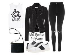 """matt bernson"" by j-n-a ❤ liked on Polyvore featuring Matt Bernson, Balenciaga, Topshop, NYC, mattbernson and pvxmattbernson"