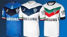 Camisas do Velez Sarsfield 2014-2015 Topper