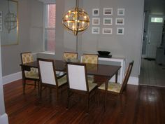Dining room - South wall