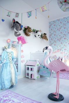 a super sweet swedish girls room...