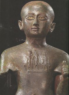 Priest Pediamun with a Sekhmet-Amun-Nefertem Pectoral, Third Intermediate Period, ca. 8th cent. B.C., (Photo: Hill, M.: Gifts for the Gods, p. 64