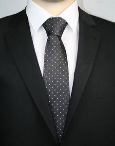 Casa Moda Krawatte extralang Anthrazit 352330602 700