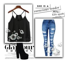 """""""Untitled #135"""" by anelaa1923 ❤ liked on Polyvore featuring WithChic and Kate Spade"""