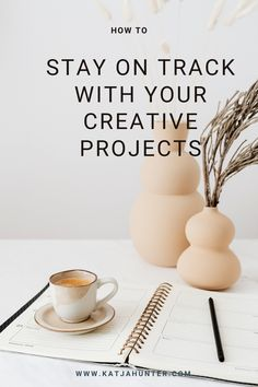 Read this post to get tips on how you stay on track with your creative projects, and don't get tempted by new shiny ideas. Multi-passionate people and other creatives can, with their wonderful creative brains, get distracted by new interests and new creative ideas. But staying on track and finishing projects is necessary to move forward with your craft and business. #focus #stayingfocused #multipotentialites Creative People, Creative Ideas, Small Business Organization, Creative Circle, Stay On Track, Self Development, Creative Business, Entrepreneur, Passionate People