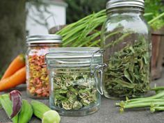 A - Z Guide to Dehydrating Vegetables