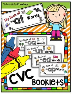CVC WORDS This page contains affiliate links. Read Full Disclosure We love to use these at home and as a literacy center in the classroom.Grab a cookie sheet, these magnetic letters (these are our… Sight Word Sentences, Cvc Words, Sight Words, Simple Sentences, Kindergarten Reading, Reading Activities, Kindergarten Activities, Preschool, Guided Reading