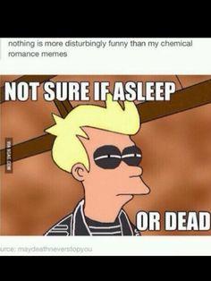 Awake and unafraid asleep or dead