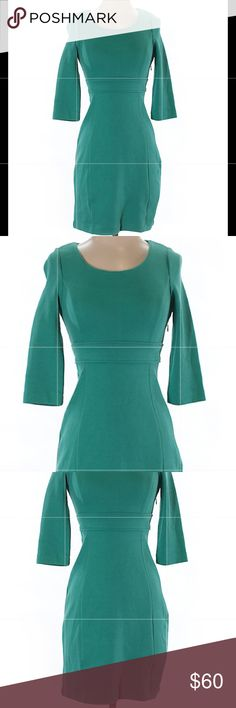 Boden Teal Green Career Dress! Size 2! Boden Dresses