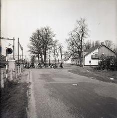 1965, spoorwegovergang bij Boerke Mutsaers